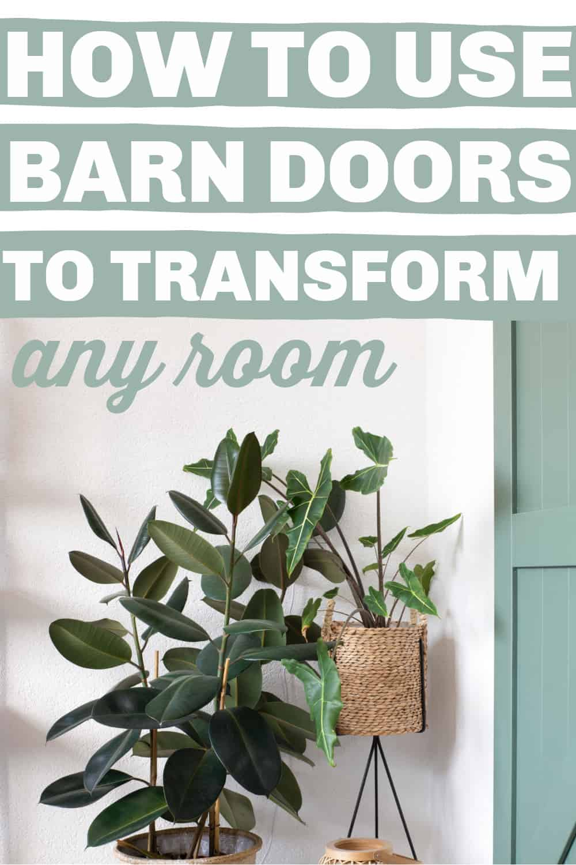 best barn doors/how to make diy barn doors
