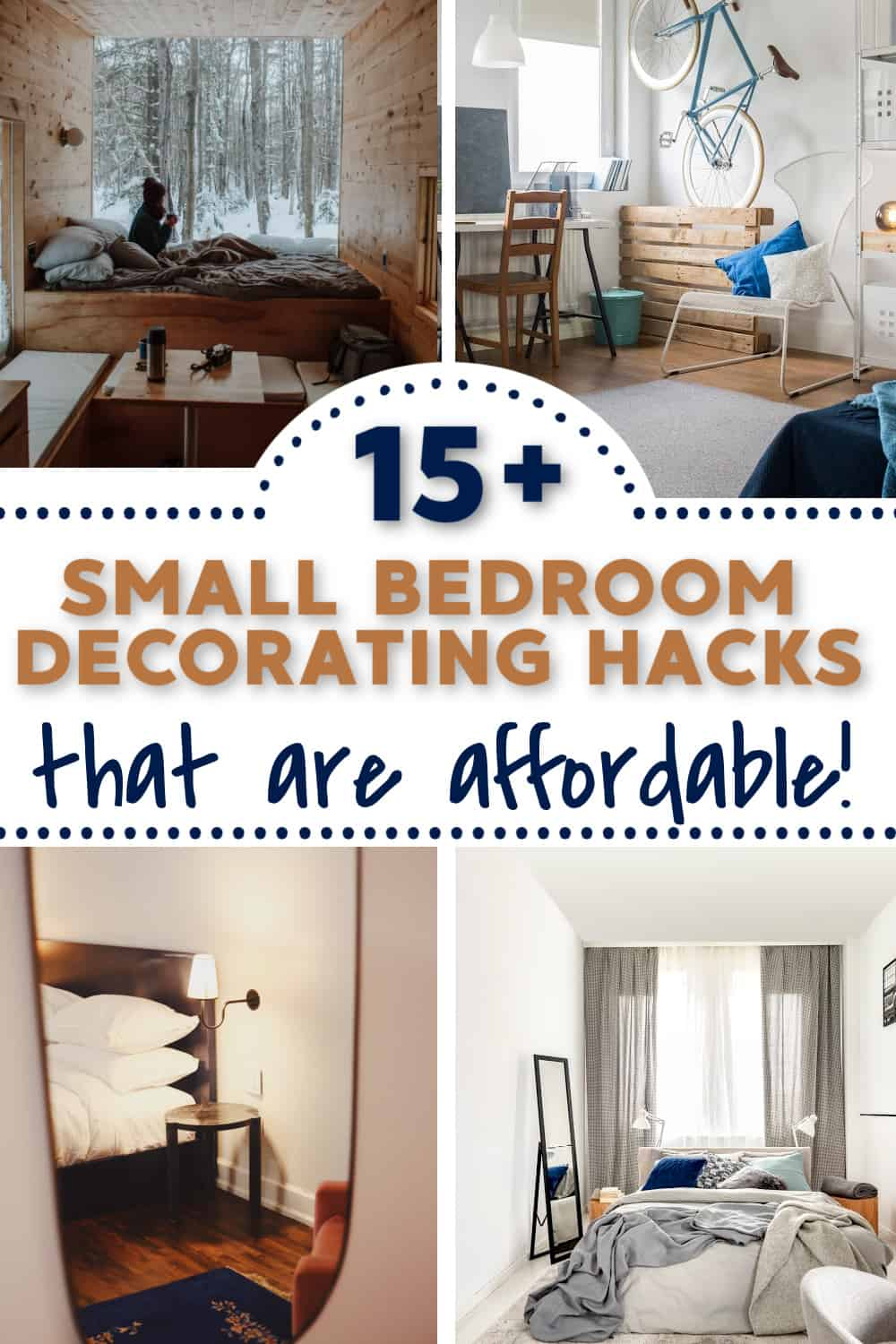 How can I decorate my room for cheap?